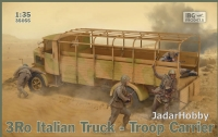 IBG 35055 1/35 3Ro Italian Truck Troop Carrier