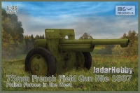 IBG 35057 1/35 Schneider 75mm French Field Gun Mle 1897 – Polish Forces in the West
