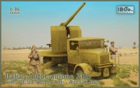 IBG 35063 1/35 Italian Autocannone 3Ro with 90/53 90mm Anti-Aircraft Gun