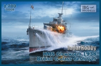 IBG 70008 1/700 HMS Glowworm 1938 British G-class destroyer