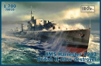 IBG 70010 1/700 HMS Harvester 1943 British H-class destroyer