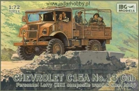IBG 72013 1/72 Chevrolet C15A No.13 Cab Personnel Lorry