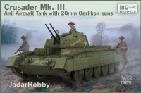 IBG 72070 1/72 Crusader Anti Air Tank Mk. III with Oerlikon Guns