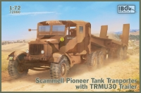 IBG 72080 1/72 Scammell Pioneer Tank Transporter with TRMU30 Trailer