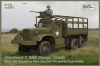 IBG 72083 1/72 Diamond T 968 Cargo Truck with M2 Machine Gun