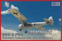 IBG 72503 1/72 RWD-8 PWS In German, Soviet i Latvian Service