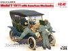 ICM 24010 1/24 - Model T 1911 Touring with American Mechanics
