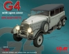 ICM 24012 G4 with open cover WWII German Personnel Car  (1/24)