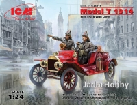ICM 24017 1/24 Model T 1914 Fire truck with crew