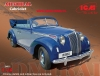 ICM 24021 Admiral Cabriolet WWII German Personnel Car  (1/24)