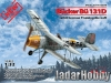 ICM 32030 1/32 Bücker Bü 131D WWII German Training Aircraft