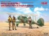 ICM 32043 1/35 Gloster Gladiator Mk.I with British Pilots in Tropical Uniform