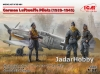 ICM 32101# 1/32 German Luftwaffe Pilots (1939-1945) (3 figures)