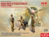 ICM 32110 1/32 Italian Pilots in Tropical Uniform (1939- 1943) (3 figures)