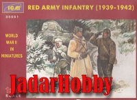 ICM 35051 1/35 Red Army Infantry, 1939-1942