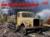 ICM 35453# 1/35 KHD S3000/SS M Maultier, WWII German Semi-Tracked Truck