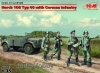 ICM 35504 1/35 Horch 108 Typ 40 with German Infantry