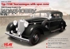 ICM 35534 1/35 Typ 770K Tourenwagen with open cover, WWII German Leader's Car