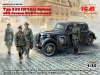 ICM 35539 1/35 Typ 320 (W142) Saloon with German Staff Personnel