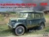 ICM 35582  1/35 le.gl.Einheitz-Pkw Kfz.1 Soft Top, WWII German Light Personnel Car