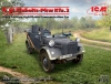 ICM 35583 1/35 le.gl.Einheitz-Pkw Kfz.2, WWII German Light Radio Communication Car