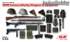 ICM 35638 1/35 WWII German Infantry Weapons & Equipment