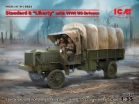 "ICM 35653 1/35 Standard B ""Liberty"" with WWI US Drivers"