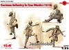 ICM 35695 1/35 German Infantry in Gas Masks (1918)