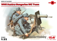 ICM 35697 1/35 WWI Austro-Hungarian MG Team (2 figures)