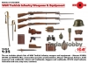 ICM 35699 1/35 WWI Turkish Infantry Weapons & Equipment
