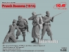 ICM 35709 1/35 French Zouaves (1914) (4 figures)