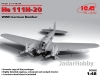 ICM 48264 1/48 He 111H-20, WWII German Bomber