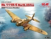 ICM 48265  1/48 He 111H-6 North Africa, WWII German Bomber