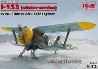 ICM 72075 1/72 I-153, WWII Finnish Air Force Fighter (winter version)