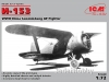 ICM 72076 1/72 I-153, WWII China Guomindang AF Fighter