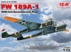 ICM 72294  1/72  FW 189A-1, WWII Axis Reconnaissance Plane