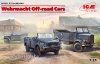 ICM DS3503#  1/35  Wehrmacht Off-road Cars (Kfz.1, Horch 108 Typ 40, L1500A)