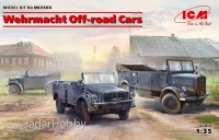 ICM DS3503  1/35  Wehrmacht Off-road Cars (Kfz.1, Horch 108 Typ 40, L1500A)