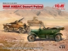 ICM DS3510 1/35 WWI ANZAC Desert Patrol (Model T LCP, Utility, Touring)