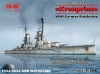 ICM S.016 1/700 Kronprinz (full hull & waterline), WWI German Battleship