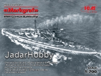 ICM S.017 1/700 Markgraf WWI German Battleship