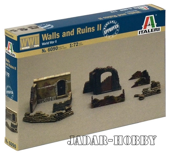 Italeri 409, Church Door, 1/35,