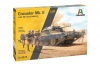 Italeri 6579 1/35 Crusader Mk. II with 8th Army Infantry