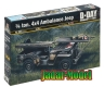 Italeri 0326 1/4 ton 4 x4 Ambulance Jeep (1/35)