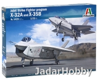 Italeri 1419 1/72 JSF Program X-32A and X-35B