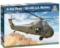 Italeri 2776 1/48 H-34A Pirate /UH-34D U.S. Marines