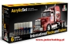 Italeri 435AP International Trucks and Trailers - Acrylic Set