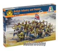 Italeri 6187 1/72 British Infantry and Sepoys (Colonial wars)
