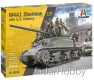 Italeri 6568 1/35 M4A1 SHERMAN with U.S. infantry