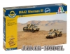 Italeri 7511 1/72 M4A2 SHERMAN III FAST ASSEMBLY